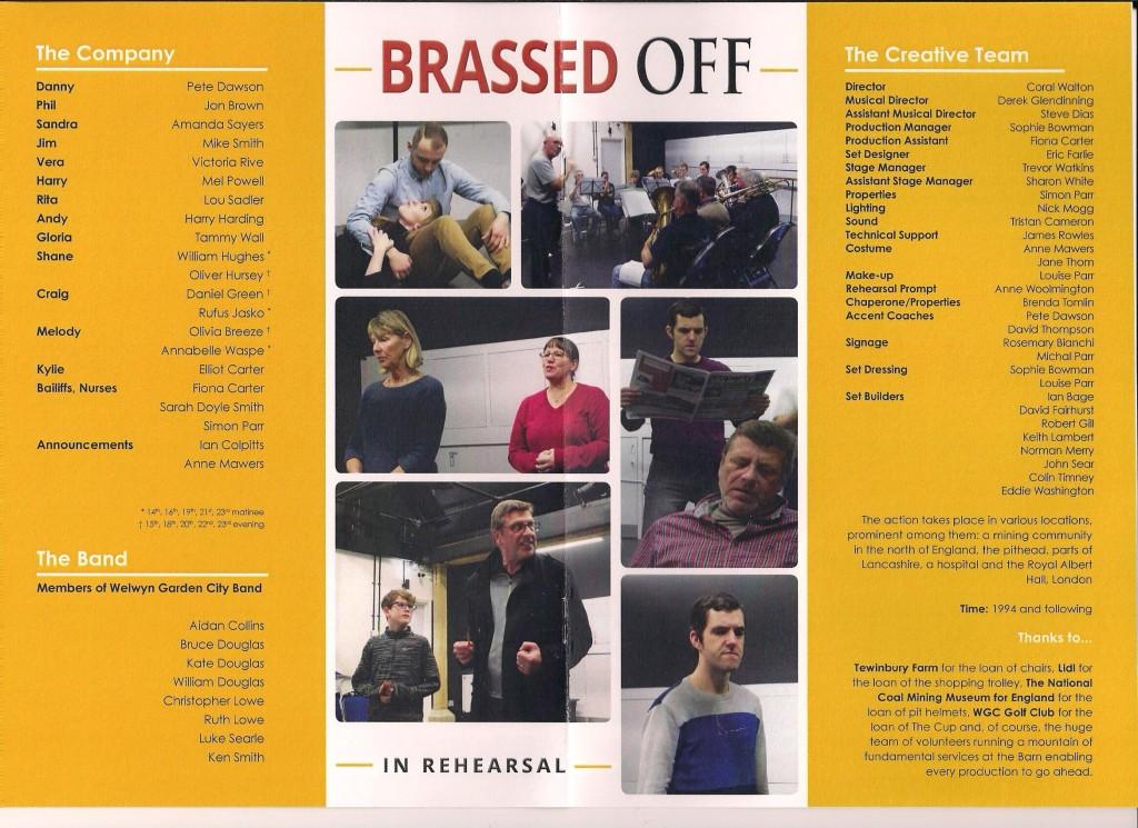 Brassed Off Prog - Cast 001
